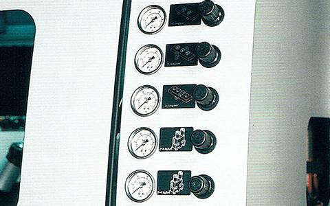 集中式エアー圧調節装置